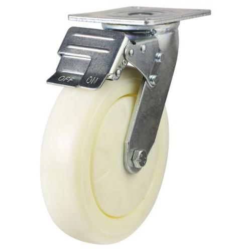 Braked castor 150mm wheel diameter upto 360kg capacity