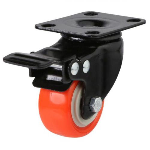 Braked castor 50mm wheel diameter upto 50kg capacity