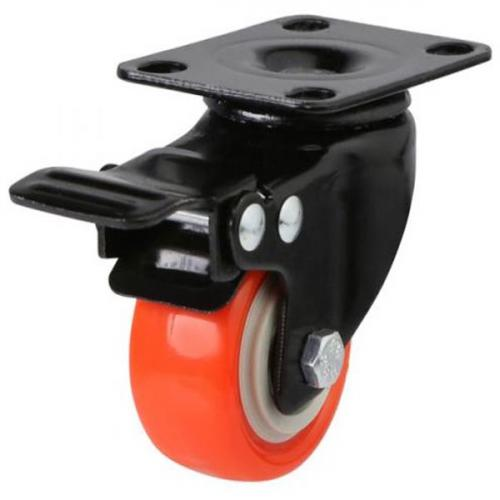 Braked castors 50mm wheel diameter upto 50kg capacity