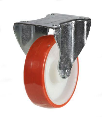 Fixed castor 125mm wheel diameter upto 200kg capacity