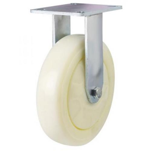 Fixed castors 100mm wheel diameter upto 270kg capacity
