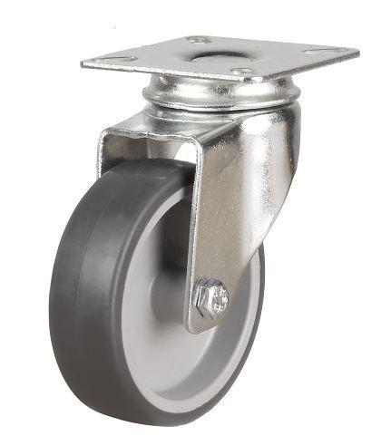 Swivel Castor 125mm wheel diameter up to 90kg capacity