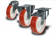Castors Fitting Types