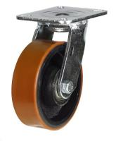 LMH Series;Medium Duty Fabricated Steel /Poly Cast Wheel Castors
