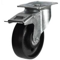 DRH Heavy Duty Cast Iron Braked Castors