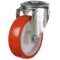 DR Bolt Hole Castors - Plain Bore