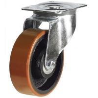 DR Series; Pressed Steel / Poly Cast Wheel castor