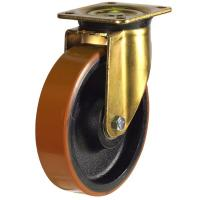 GDH Series;Heavy Duty Pressed Steel /Poly Cast Wheel Castors