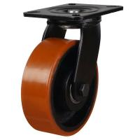 LMHB Series;Medium Duty Fabricated Steel /Poly Cast Wheel Castors