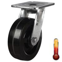 LMHWAN Heavy duty High Temperature Resistant castors upto 300 °C