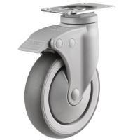 Plastic Bodied Grey Medical Castors