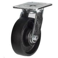 100mm Heavy Duty Cast Iron Swivel Castor - 380kg capacity