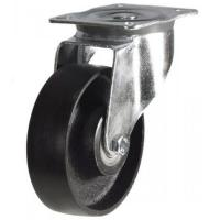 100mm medium duty swivel castor cast iron wheel