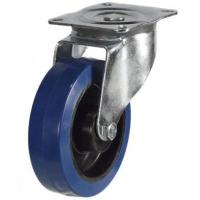 125mm Heavy Duty Rubber on Nylon Swivel castors - 250kg capacity