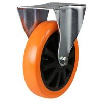 150mm Light Duty Poly Nylon Fixed castors - 350kg capacity