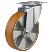 150mm medium duty swivel castor poly/alley wheel