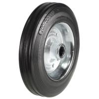 160mm Wheel with Rubber on Steel Disk Centre 135kg Capacity