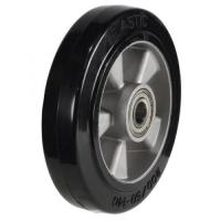 160mm Wheel with Elastic Rubber on an Aluminium Centre 350Kg Capacity