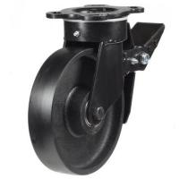 Heavy Duty Braked castors 125mm wheel diameter upto 500kg capacity