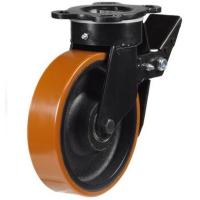 Heavy Duty Braked castors 125mm wheel diameter upto 550kg capacity