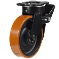 Heavy Duty Braked castors 150mm wheel diameter upto 750kg capacity