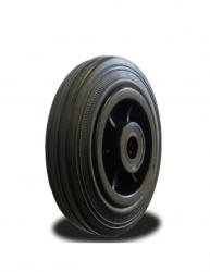 80mm / 65kg Rubber on Nylon Centre Wheel