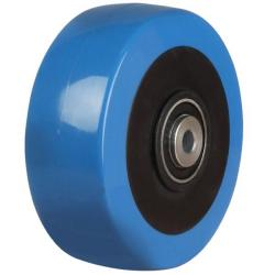 100mm / 250kg Elastic Poly Nylon Wheel