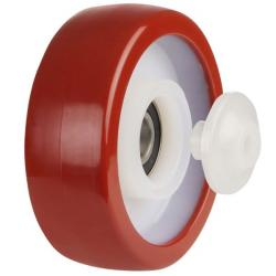100mm Poly Nylon Castors Wheel