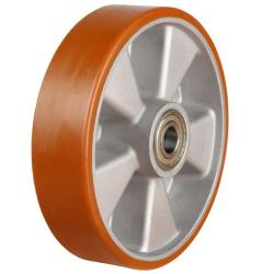 100mm Polyurethane On Aluminium Centre Castors Wheel