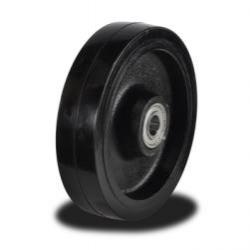 100mm Rubber On Cast Iron Core Swivel Castors