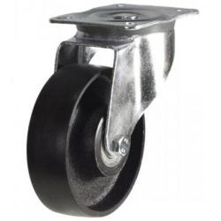 100mm medium duty swivel castor cast iron wheel, HIGH TEMPERATURE
