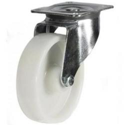 100mm medium duty swivel castor nylon wheel