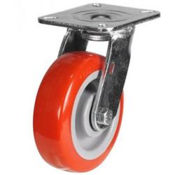 125mm Heavy Duty Poly Nylon Swivel Castors - 340kg capacity