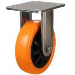 125mm Polyurethane On Nylon Centre Fixed Castors