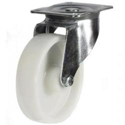 150mm medium duty swivel castor nylon wheel
