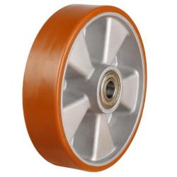 160mm Polyurethane On Aluminium Centre Castors Wheel