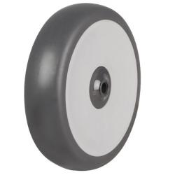 160mm Rubber Tyre On Plastic Centre Wheel