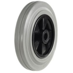 160mm Wheel with Non Marking Rubber on Nylon Centre 135Kg Capacity