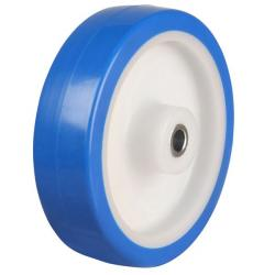 200mm Light Duty Elastic Poly Nylon Castors Wheel