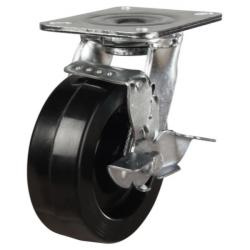 200mm Phenolic Braked Castors