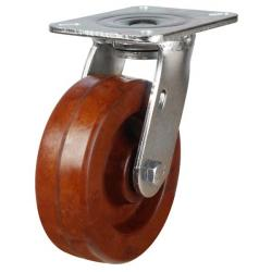 200mm Phenolic Swivel Castors