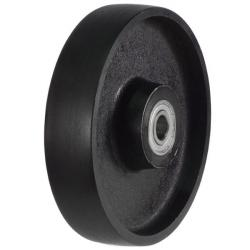 200mm / 1100kg Solid Cast Iron Wheel