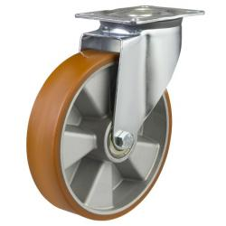 200mm medium duty swivel castor poly/alley wheel