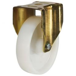 250mm Heavy Duty Nylon Fixed Castors