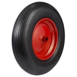 400mm / 200kg Pneumatic on Steel Centre Wheel (Plain)