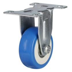 50mm Light Duty Elastic Poly Nylon Fixed Castors