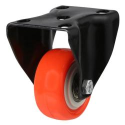 50mm Light Duty Polyurethane On Nylon Fixed Castors