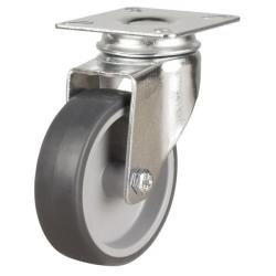 50mm Light Duty Rubber Swivel Castors