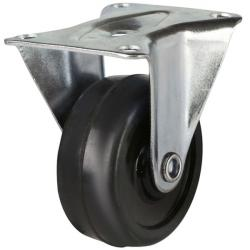 50mm Light Duty Solid Rubber Fixed Castors