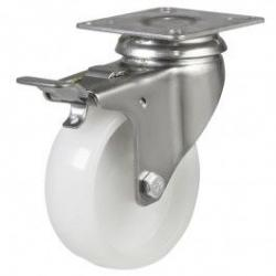 50mm Light Duty Nylon Braked Castors